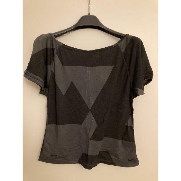 Nike Shirt grafisch gemustert L