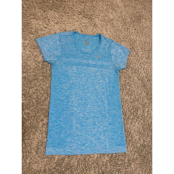 Nike Sportshirt Blau in XS