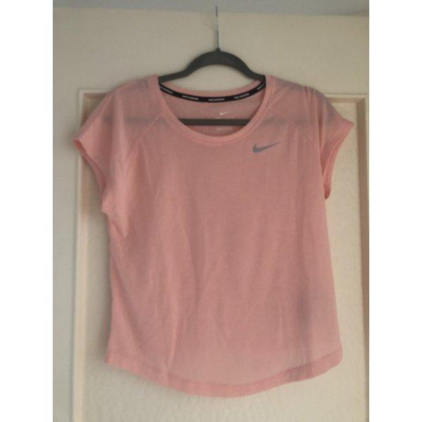 Nike Sportshirt S rosa Aprikose