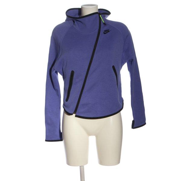 Nike Sweatjacke blau Casual-Look