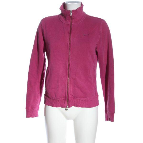 Nike Sweatjacke pink Casual-Look