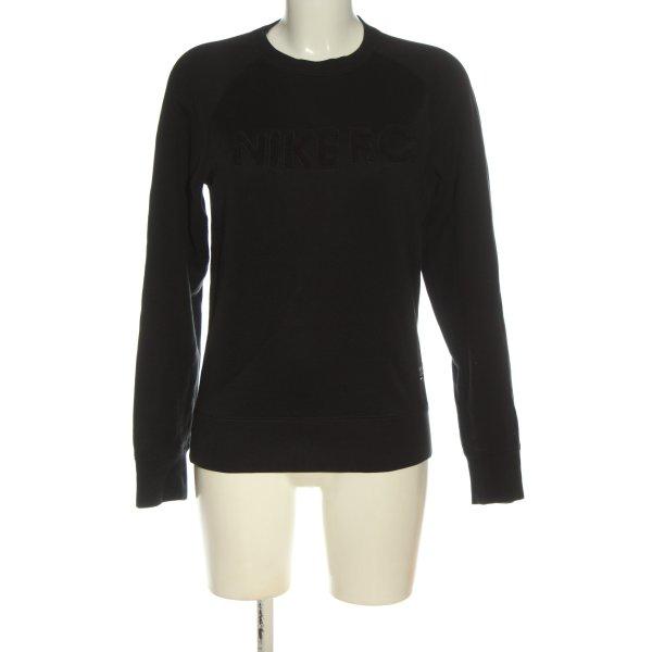 Nike Sweatshirt schwarz Casual-Look