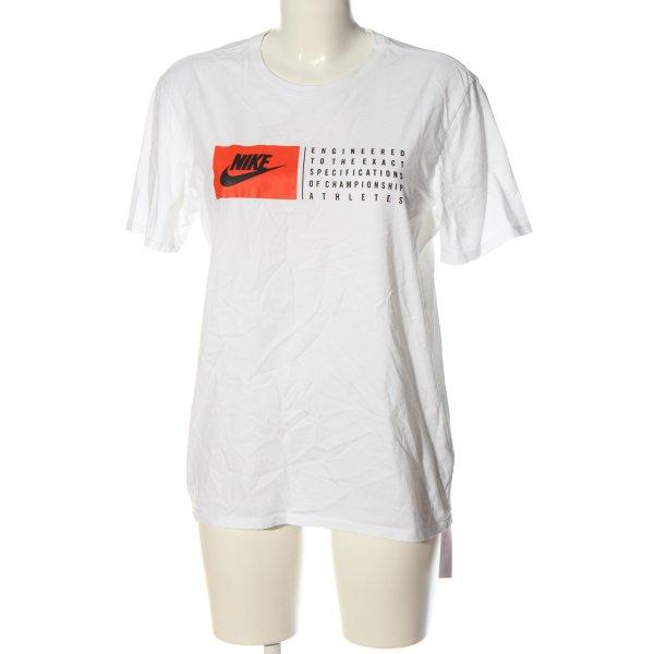 Nike T-Shirt Schriftzug gedruckt Casual-Look