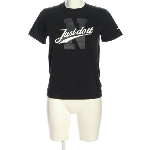 Nike T-Shirt Motivdruck Casual-Look