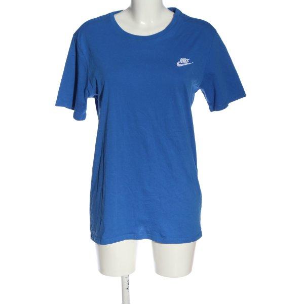 Nike T-Shirt blau Casual-Look