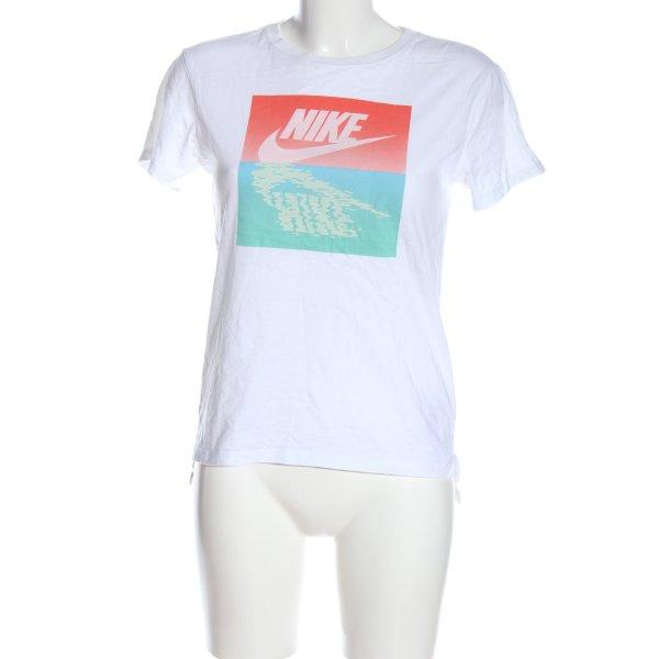 Nike T-Shirt mehrfarbig Casual-Look