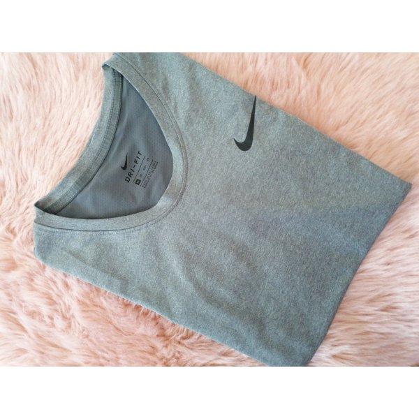 Nike Dri-FIT Koszulka sportowa czarny-szary