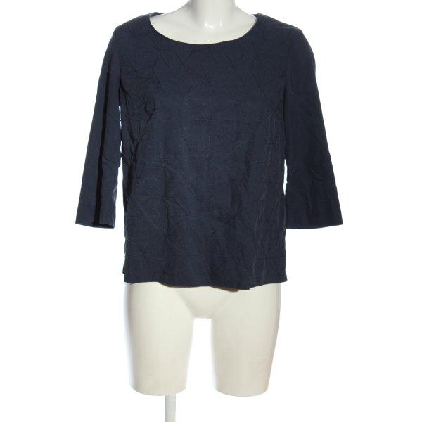 Noa Noa Schlupf-Bluse blau Casual-Look