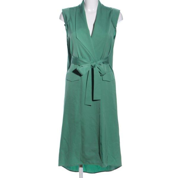 Nobi Talai Longstrickweste grün Business-Look