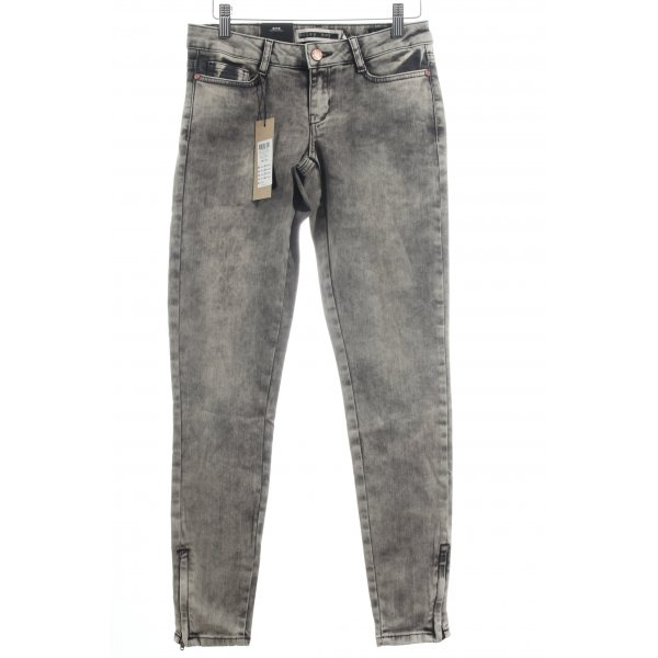 "Noisy May Skinny Jeans ""Eve"" grau"