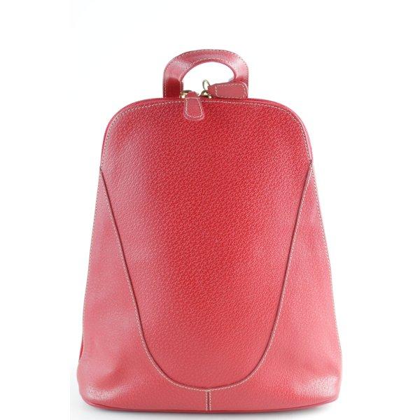 Notebookrucksack dunkelrot Elegant
