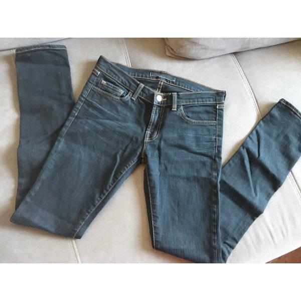 NP 300€ J Brand Jeans Denim Hose Jeanshose Dunkelblau Gr. 26
