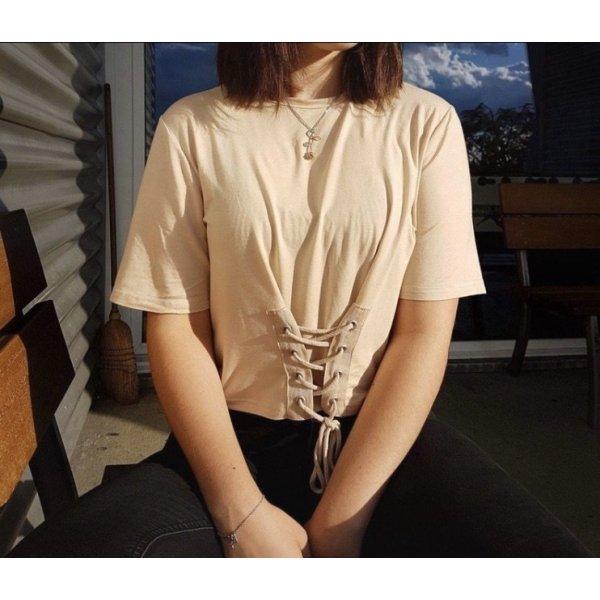 T-shirt crema