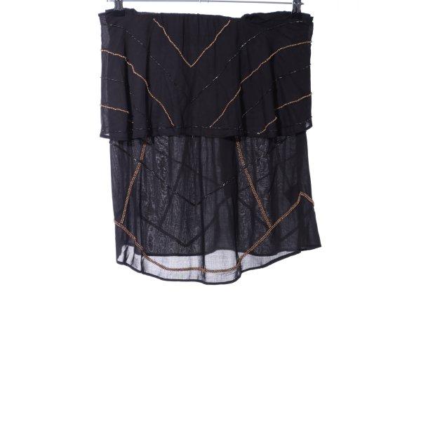 NÜ Denmark Wickelrock schwarz extravaganter Stil