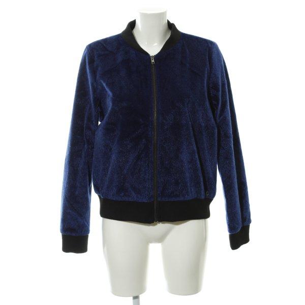 Nümph Kurzjacke blau extravaganter Stil