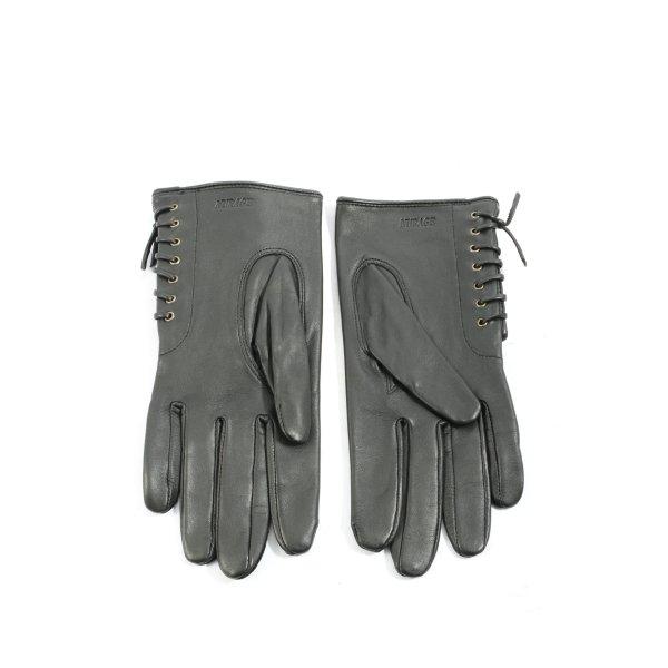 Nurage Lederhandschuhe schwarz Business-Look