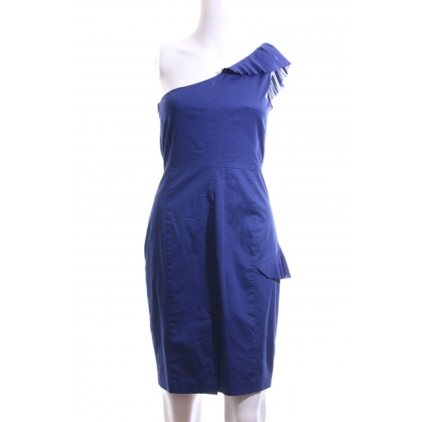 Oasis One-Shoulder-Kleid blau Elegant