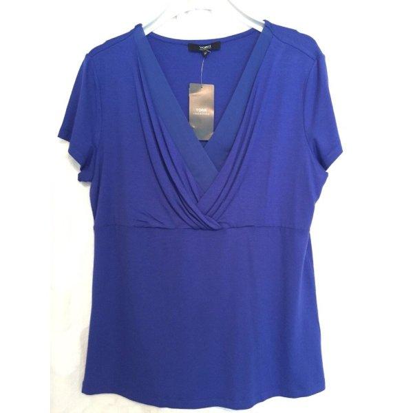 Oberteil shirt Bluse von Yorn neu blau Gr. 42