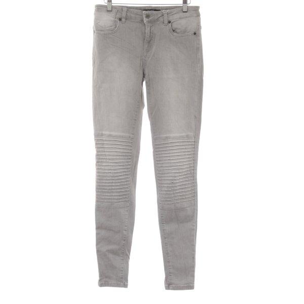 Object Skinny Jeans hellgrau Casual-Look