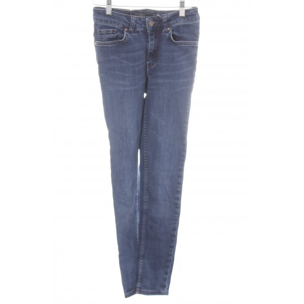 Object Skinny Jeans stahlblau Casual-Look