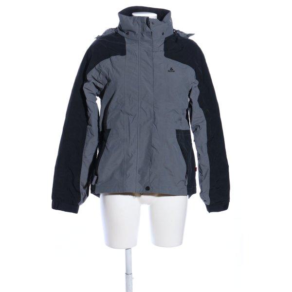OCK Outdoor Casual Khaki Outdoorjacke hellgrau-schwarz Casual-Look