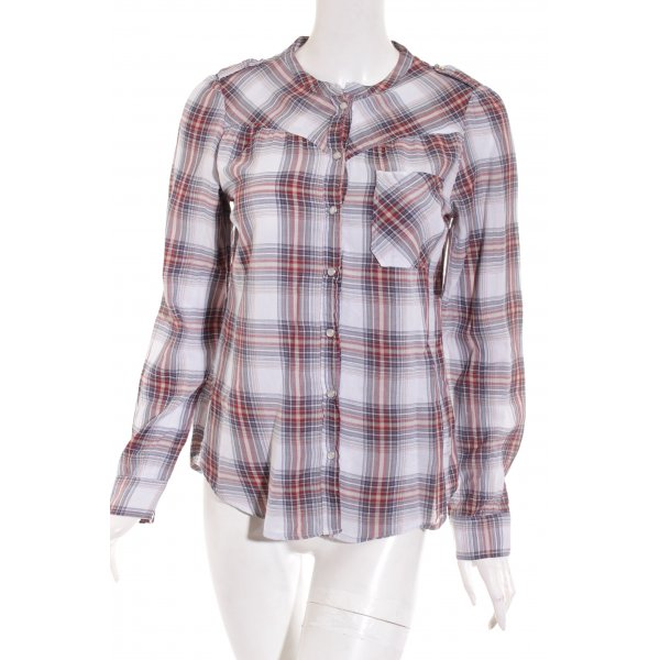 Odd Molly Bluse Karomuster Casual-Look