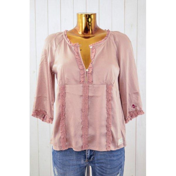 ODD MOLLY Damen Tunika Bluse Oberteil LITTLE WONDERS SILK BLOUSE Powder Gr. 2
