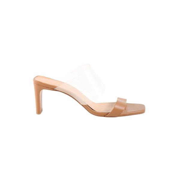 Office London High Heel Sandaletten nude Casual-Look