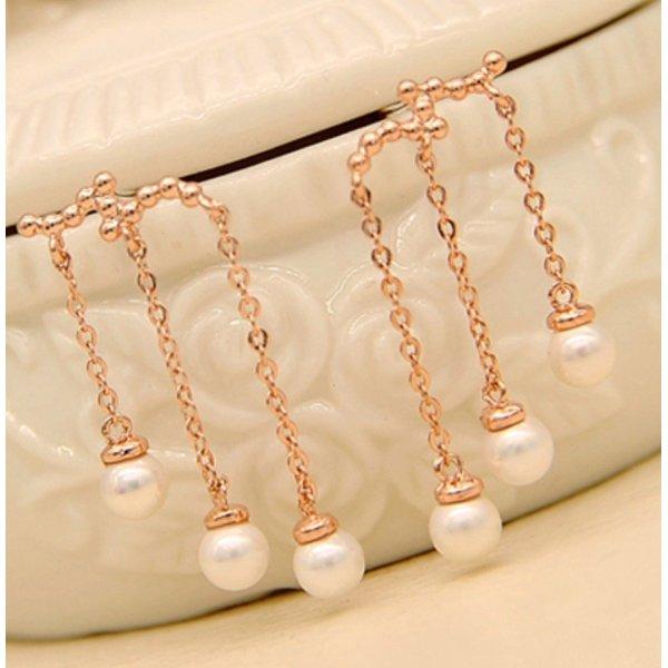 Ohrring Perle hängende neu