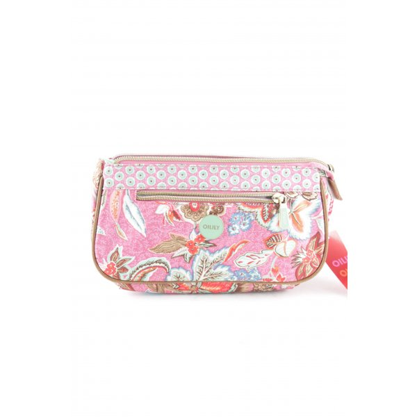 Oilily Clutch abstraktes Muster Casual-Look