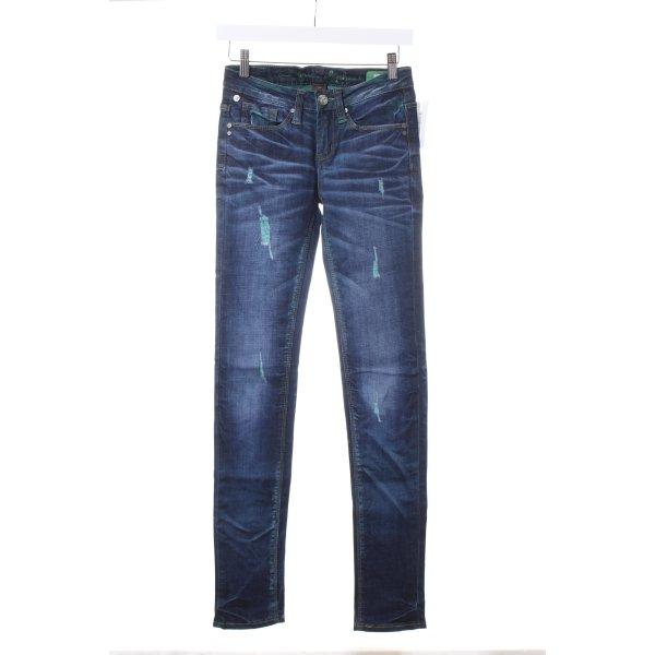 "One green elephant Skinny Jeans ""Kosai"""