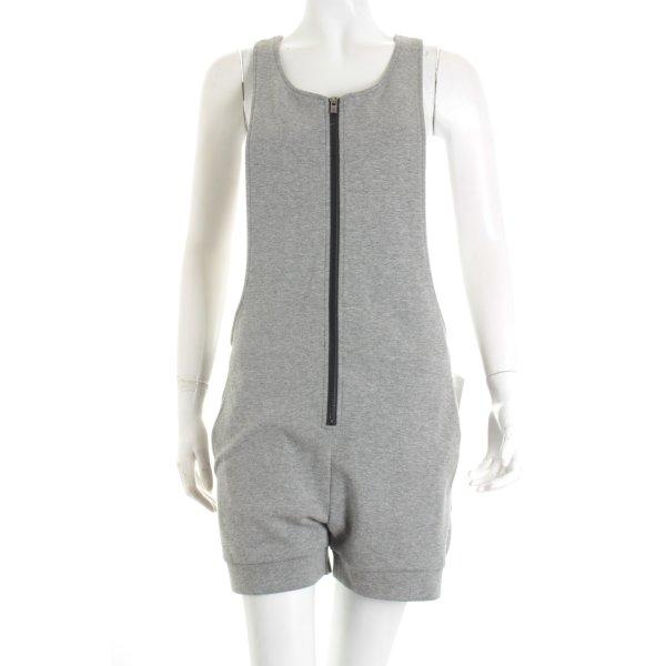 Onepiece Jumpsuit grau meliert Casual-Look