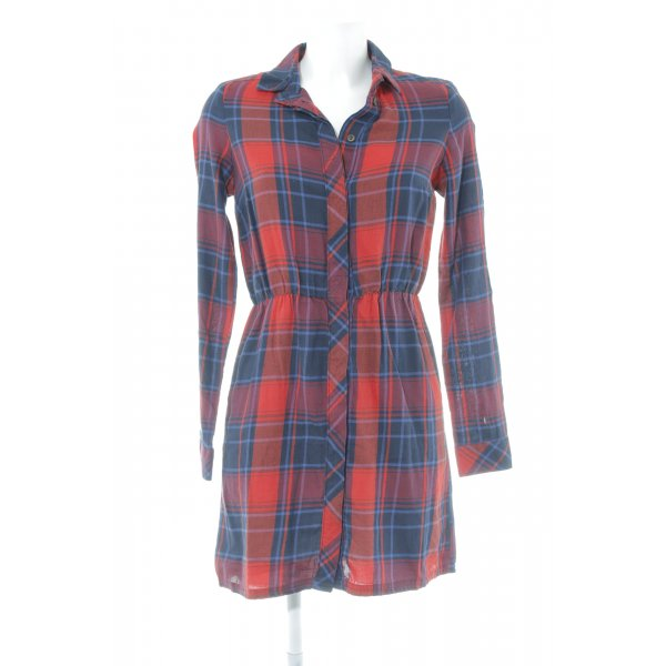 Only Blouse Dress check pattern casual look