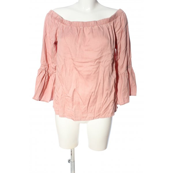 Only Carmen-Bluse nude Casual-Look