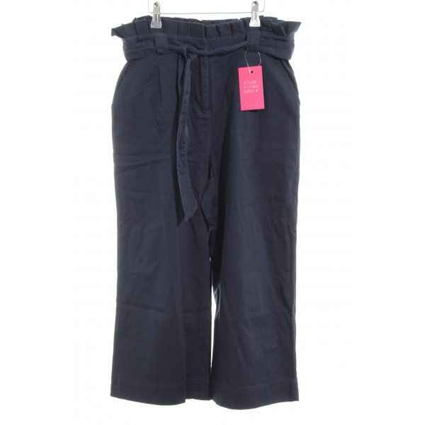 Only Culottes blau Casual-Look