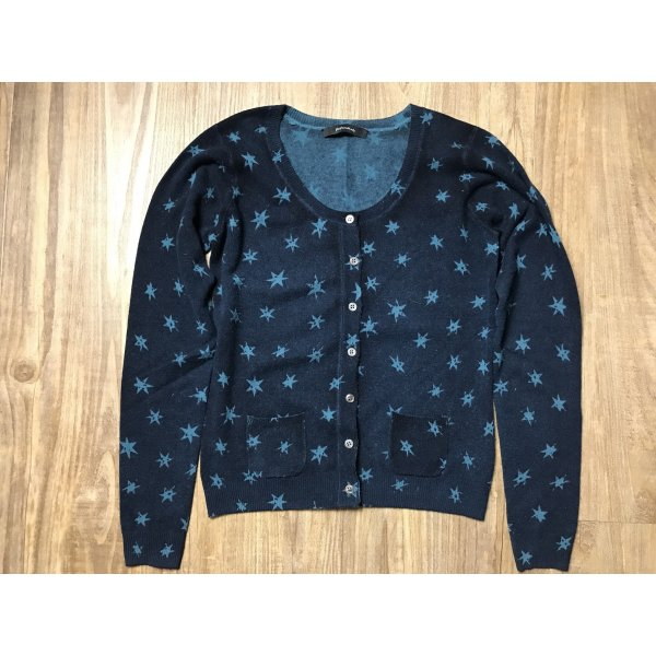 Only for Friends cardigan wolle/ Cashmere Gras blau