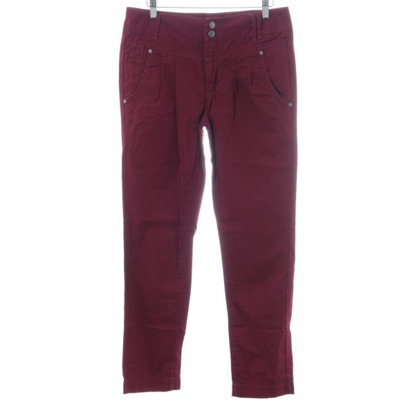 Only Hüfthose rot Casual-Look