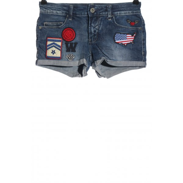 Only Jeansshorts mehrfarbig Casual-Look