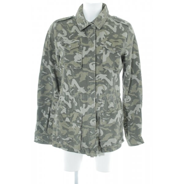 Only Militaryjacke abstraktes Muster Casual-Look