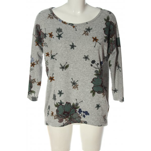 Only Rundhalspullover Allover-Druck Casual-Look
