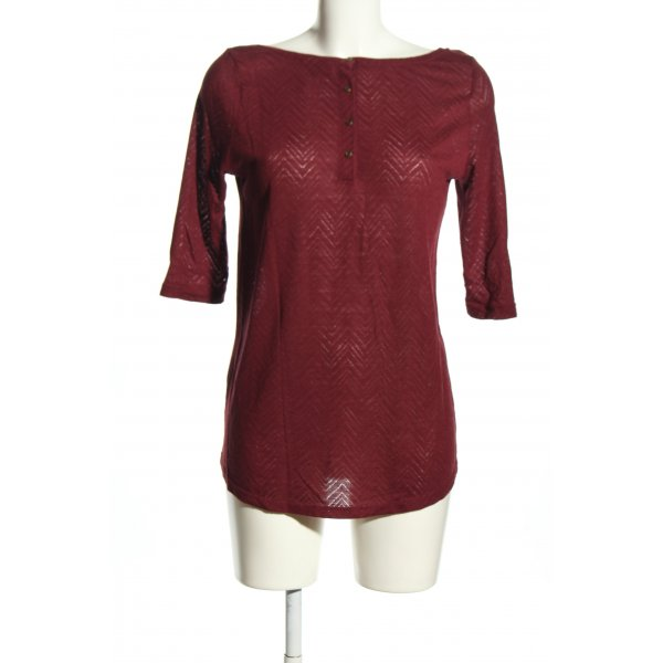 Only Rundhalspullover rot Casual-Look