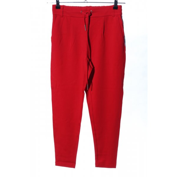 Only Stoffhose rot Casual-Look