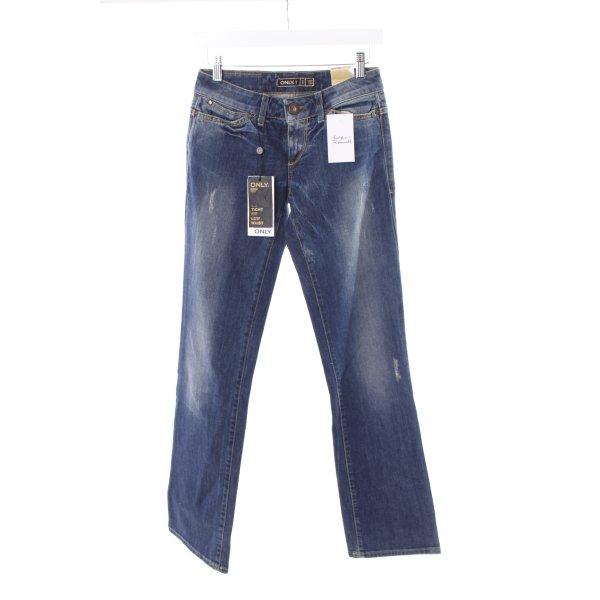 "Only Straight-Leg Jeans ""SCR Dante"" blau"