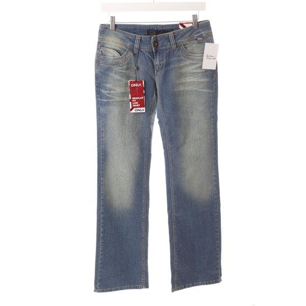 "Only Straight-Leg Jeans ""Chiara"" neonblau"