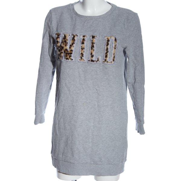 Only Sweatshirt meliert Casual-Look