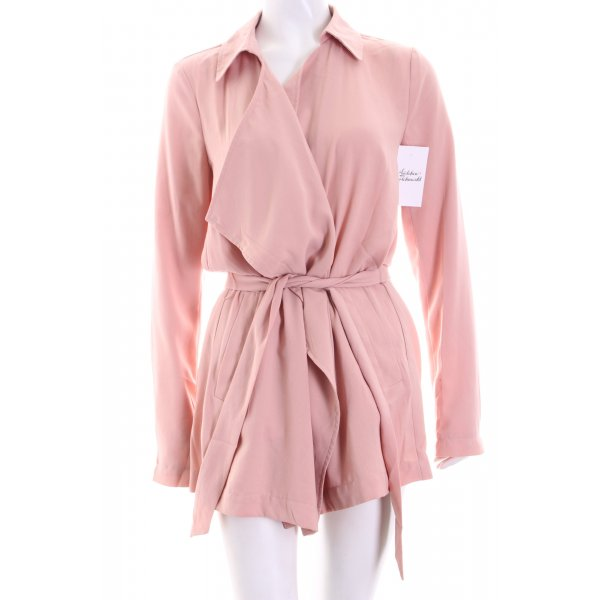 Only Trenchcoat altrosa Street-Fashion-Look