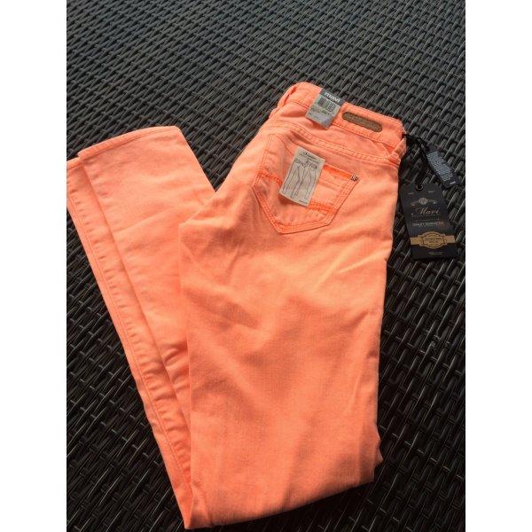 Orange MAVI Jeans mit Etikett