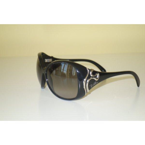 Emilio Pucci Sunglasses black-silver-colored