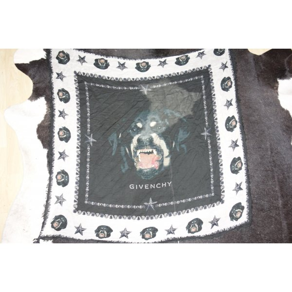 Org. GIVENCHY Rottweiler-Tuch/Schal sold out