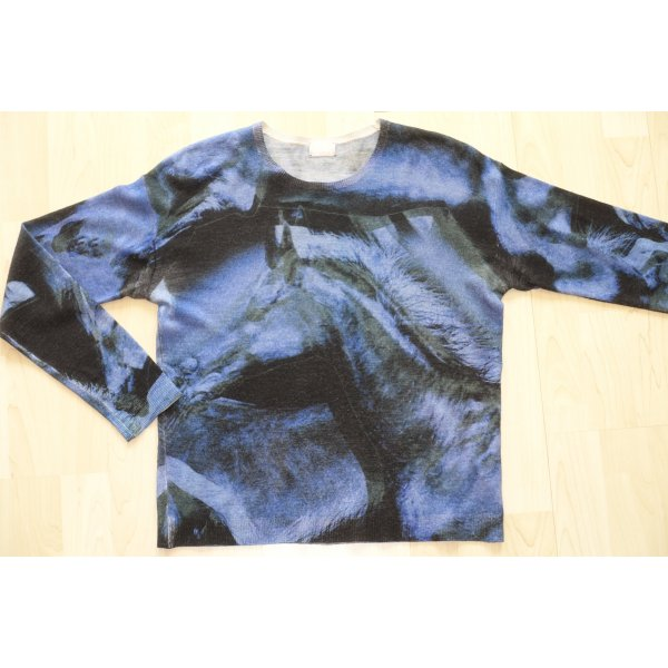 Org. LALA Berlin Pullover aus Wolle mit Muster Gr.S